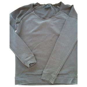 Maison Scotch Grey Cotton Knitwear